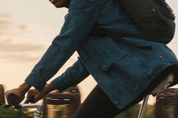 Levi's Commuter Jacquard by Google Trucker Jacket