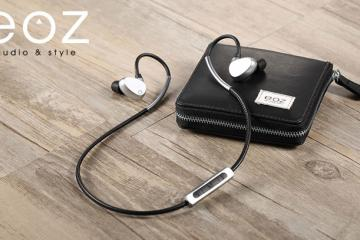 EOZ One Leather & Aluminum Bluetooth Earphones
