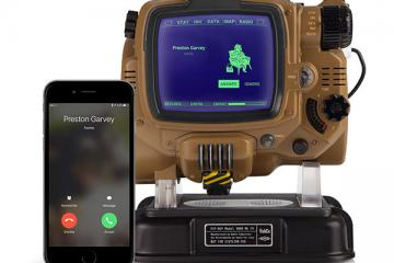 Bluetooth Pip-Boy Pairs with Your Smartphone