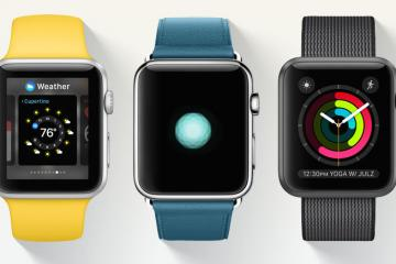 watchOS 3: Faster Access, new Watch Faces