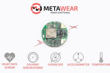 MetaHealth Development Board with Bluetooth, HR, Motion Sensors