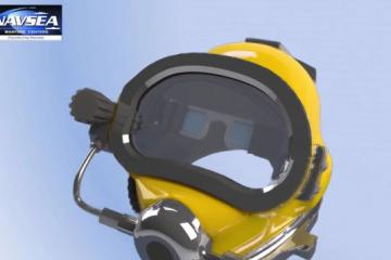 Diver Augmented Vision Display for Military Divers