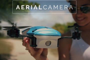 UP&GO Aerial 1080p Camera with Wearable Controller
