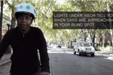 Classon Smart Helmet with Blind Spot Detection