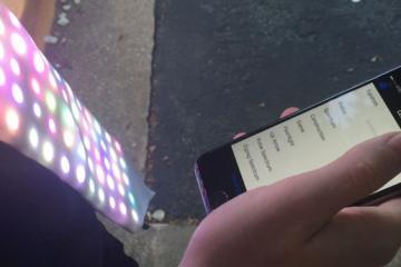 Lumen Tie: Programmable Bluetooth LED Tie