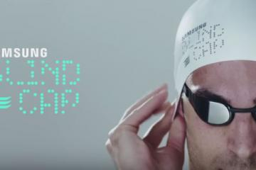 Samsung Smart Cap for Blind Swimmers