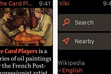 Viki: Wikipedia Reader for Apple Watch