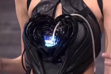 Robotic Cocktail Dress by Anouk Wipprecht