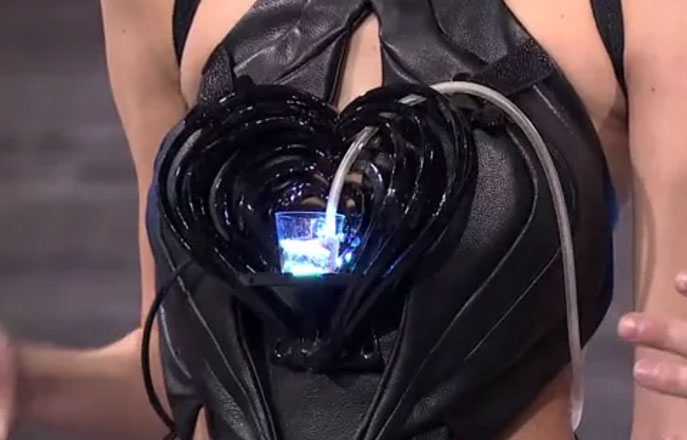 Robotic-Cocktail-Dress