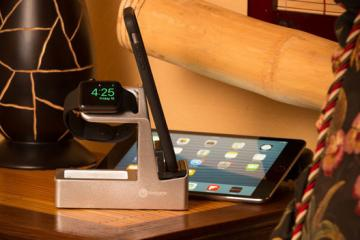 Basecamp 5-in-1 Charger for Apple Watch, iPhone