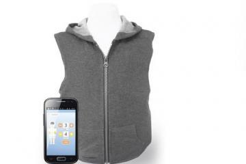 Tjacket App Controlled Deep Pressure Vest