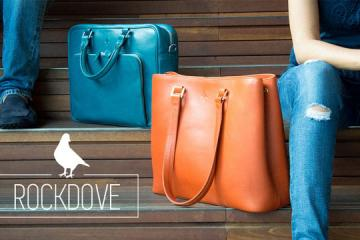 Rockdove Trackable Leather Bags, Wallets