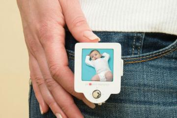 Project Nursery Baby Cam with Wearable Mini Monitor