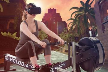 HOLOFIT VR Rowing System