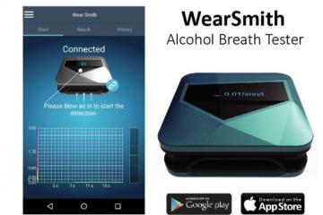 WearSmith Smart Bluetooth Breathalyzer