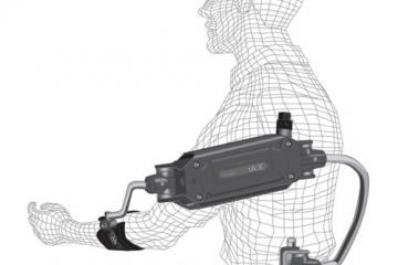 X-Ar Exoskeleton Provides Arm Support