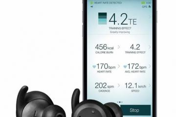 Jabra Elite Sport Wireless Earbuds with HRM