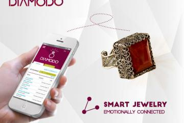 Diamodo Smart Jewelry Keep You Connected