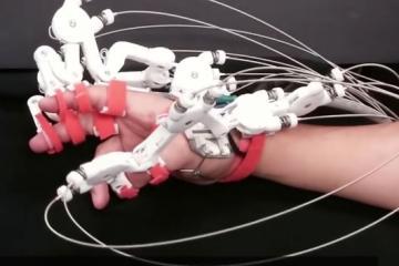 UT Hand Exoskeleton: 3D Printed, Cable-driven Exoskeleton for Rehab