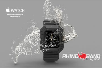 Rhino Band: Rugged Protection for Apple Watch Series 2