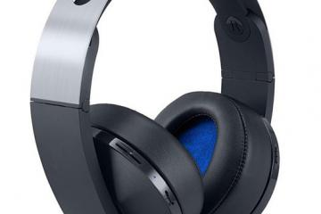 Sony Platinum Wireless Headset for PS4, PSVR with 3D Audio