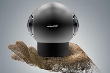 nakedEYE full 360-degree 4K VR Camera