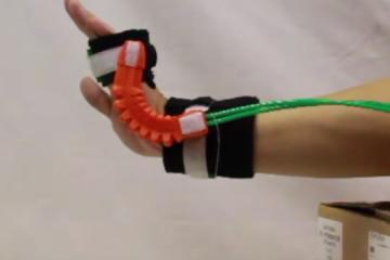 Wrist Joint Rehabilitation with 3D-Printed Soft Robotic WristGuard