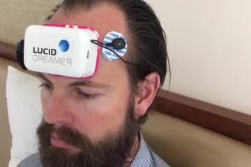 Lucid Dreamer: App-enabled Lucid Dream Inducing Device