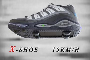 X-Shoe – 15 km/h Motorized Shoes