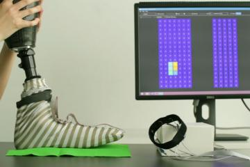 proCover: Using a Sensing Sock for Sensory Augmentation of Prosthetic Limbs