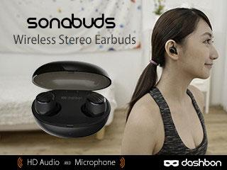 SonaBuds Stereo Earbuds with HD Audio
