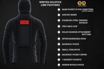 Winter Solstice Solar Jacket