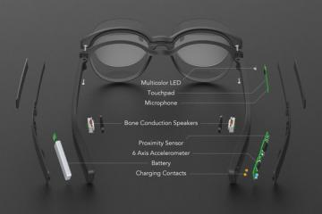 Vue: Smart Glasses + Activity Tracker