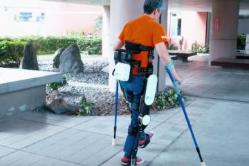 ITRI's Wearable Walking Assist Exoskeleton Robot for Disabled People