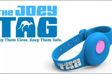 Joey Tag: Child Safety Wearable