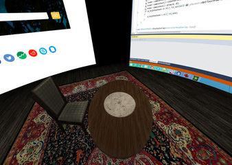 LightVR: Room Simulator for HTC Vive
