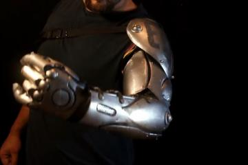 DIY Full Metal Bionic Arm Armor