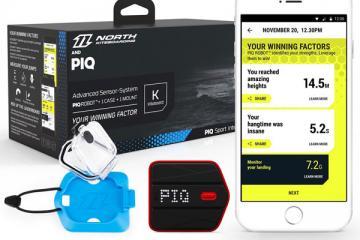 PIQ App Smart Kiteboarding Sensor