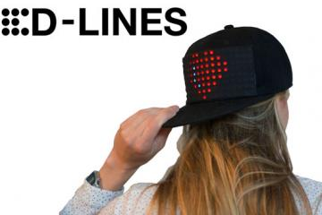LED-LINES: App Controlled LED Cap