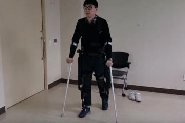 RoboWear8 Wearable Walking Robot for the Disabled