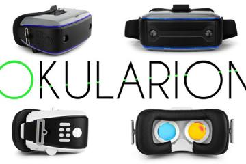 OKULARION Wireless VR+AR Headset Needs No Phone