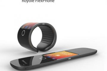 Royole FlexPhone: Flexible, Wearable Smartphone