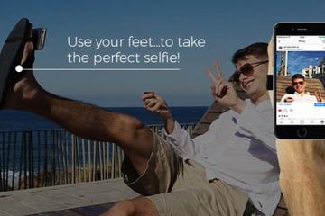 SelfieFeet: Selfie Accessory for Your Shoes