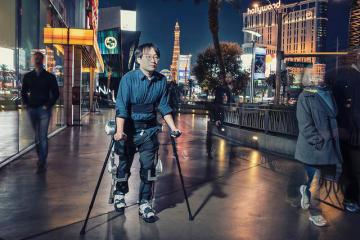 Hyundai Motor's Advanced Wearable Robots for People with Limited Mobility