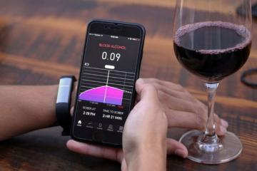 Proof Alcohol Tracking Wristband