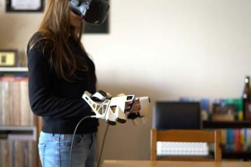EXOS Haptic Exoskeleton for VR & Robots