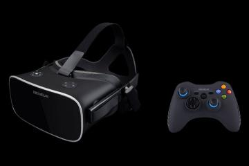 VR-7 Headset with 2K Display for Games & 3D Videos