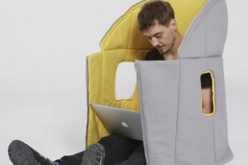 Sharkman Wearable Furniture Transforms Into Various Shapes