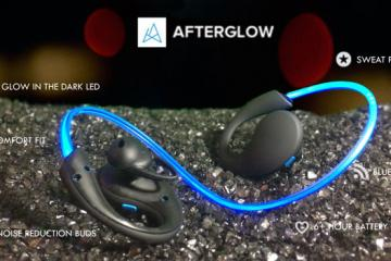 Afterglow: Glow in the Dark Bluetooth Headphones