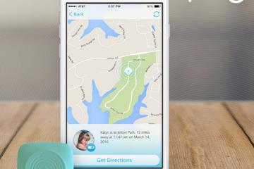 Ping: Compact Bluetooth GPS Locator To Track Kids, Pets